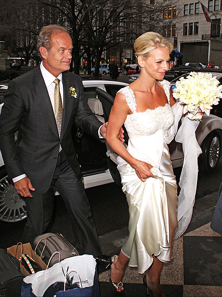 JUST MARRIED photo   Kelsey Grammer