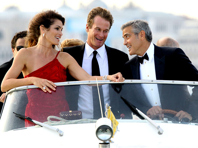 SHIP MATES   photo | Cindy Crawford, George Clooney, Randy Gerber