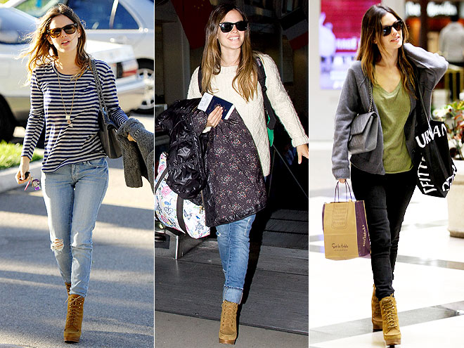 COACH BOOTIES photo | Rachel Bilson