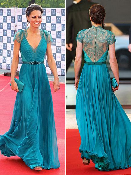 KATE'S SEXY TEAL DRESS photo | Kate Middleton