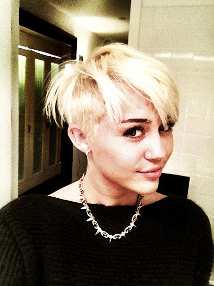 MILEY'S BIG CHOP photo | Miley Cyrus