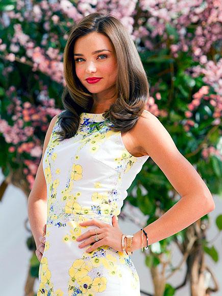 FLOWER GIRL photo | Miranda Kerr