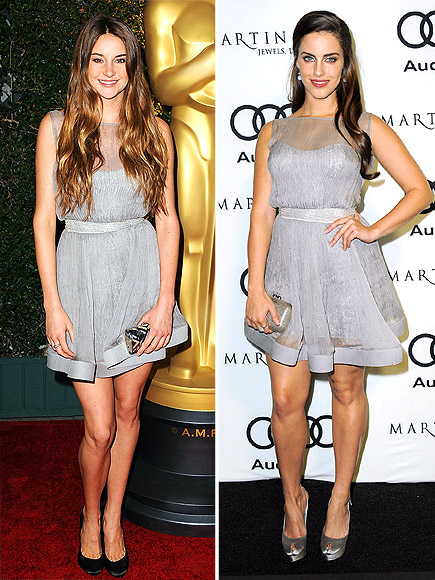 SHAILENE VS. JESSICA photo | Jessica Lowndes, Shailene Woodley