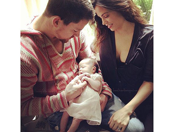 Channing Tatum Jenna Dewan-Tatum Daughter Everly First Photo
