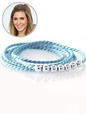 Jamie-Lynn Sigler Pregnant CJ Free Jewelry Real Joy Bracelet