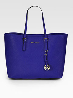 Colored Leather Tote Zulily