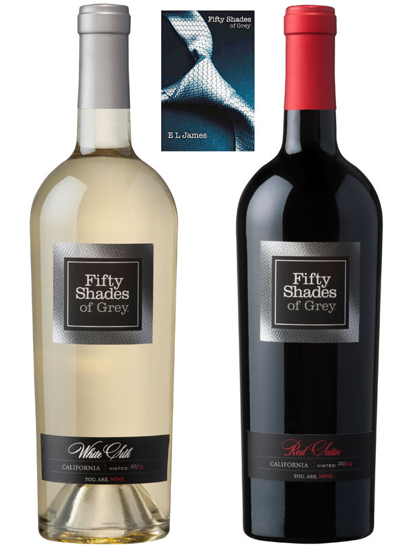 E.L. James Fifty Shades of Grey Wine