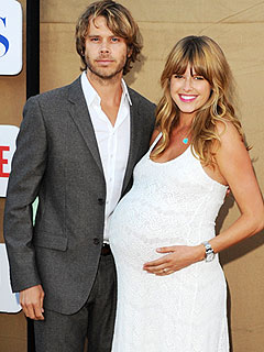 Eric Christian Olsen Sarah Wright Welcome Son Wyatt Oliver