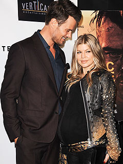 Josh Duhamel Fergie Welcome Son