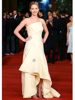 Jennifer Lawrence Dior Hunger Games