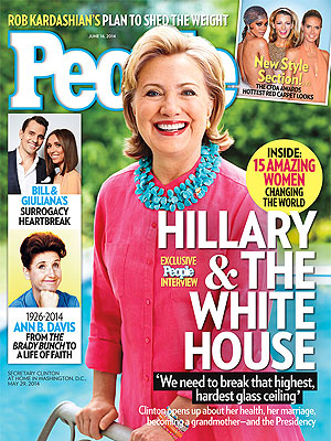 Hillary Clinton Opens Up About Becoming a Grandmother – and Possible Presidential Run