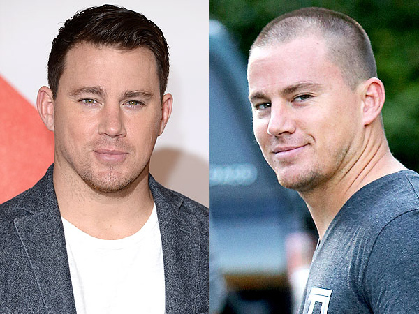 Channing Tatum shaved head
