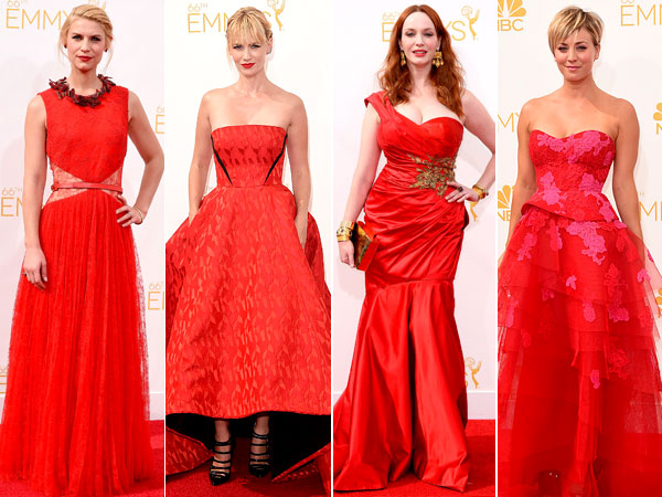 Red Dresses Emmys