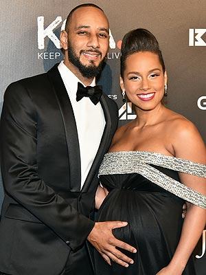 Alicia Keys Swizz Beatz Introduce son Genesis Ali