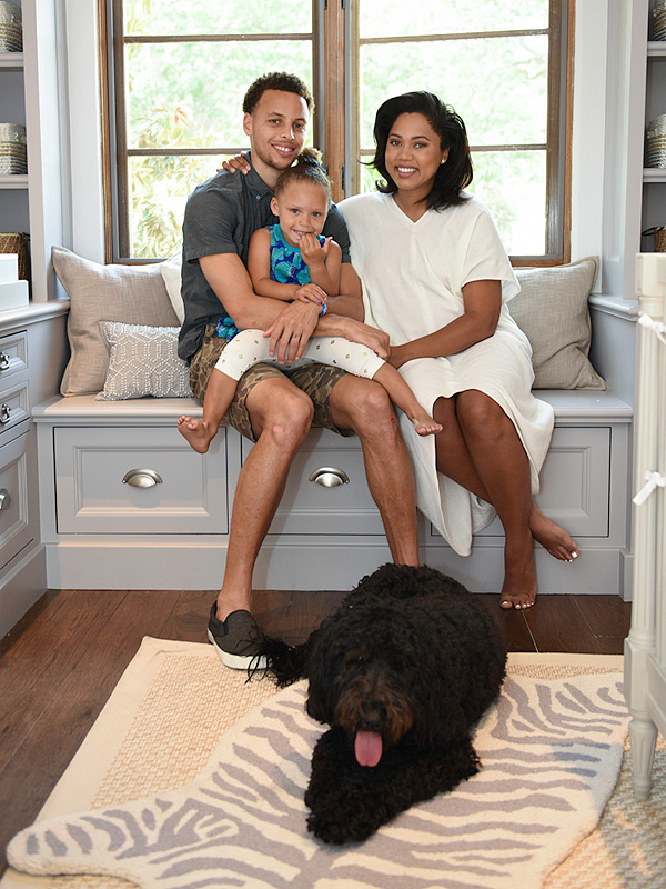 Inside Stephen Curry's Chic (and Gender-Neutral!) Nursery ...