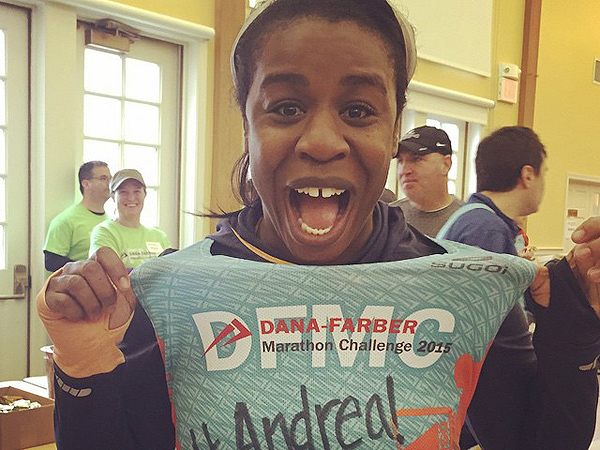 Uzo Aduba Boston Marathon