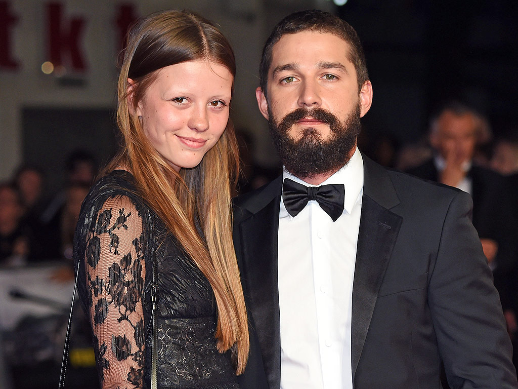 Shia LaBeouf's Girlfriend With No Eyebrows Agrees To Marry ...