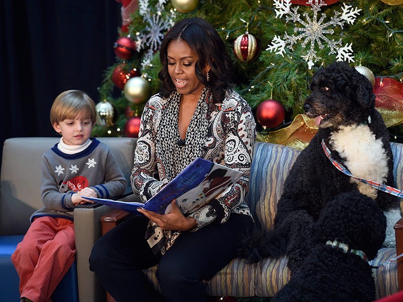 Michelle Obama Spills the Beans on President Obama's Christmas Present