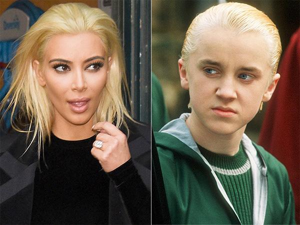 Kim Kardashian Draco Malfoy