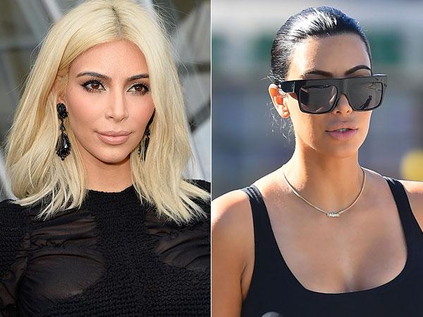 Kim Kardashian Brown Hair