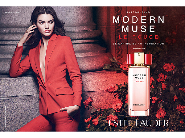 Kendall Jenner in Estee Lauder ad