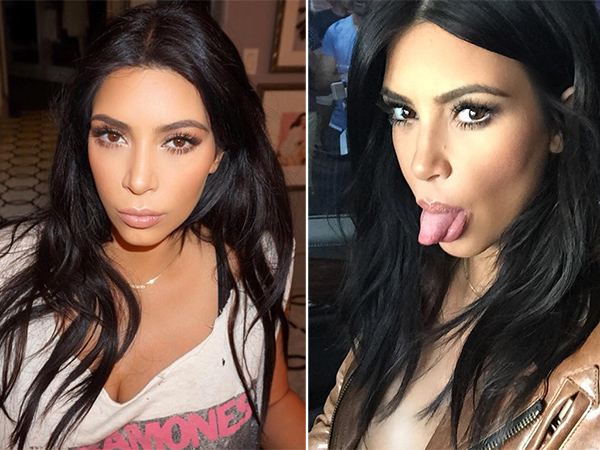 Kim Kardashian haircut