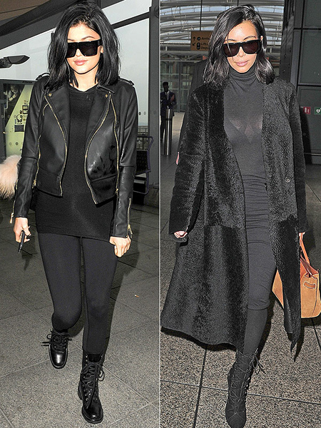 ALL BLACK EVERYTHING photo | Kim Kardashian, Kylie Jenner