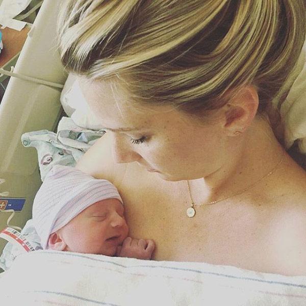 Heather Morris Welcomes Son Owen Bartlett
