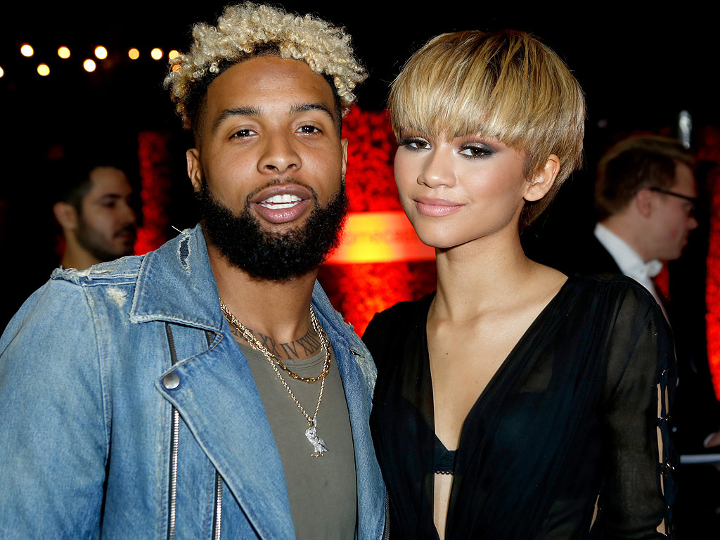 Grammys 2016: Zendaya and Odell Beckham Jr. Spotted at Grammy Awards Afterparty