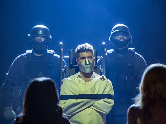 'I Don't Actually Bite!': Simon Cowell Channels Hannibal Lecter as He Meets Fellow America's Got Talent Judges| America's Got Talent, TV News, Simon Cowell