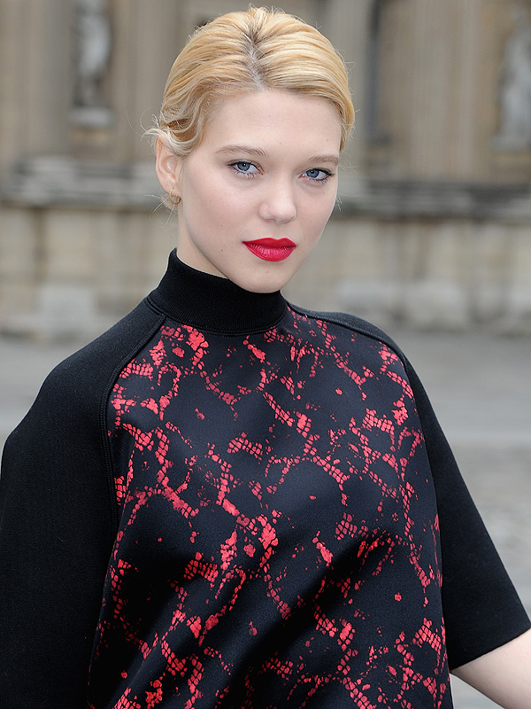 Lea Seydoux Face Louis Vuitton