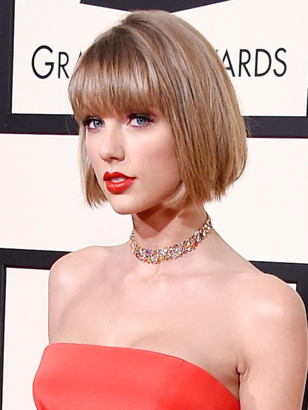 Taylor Swift bob grammys 2016