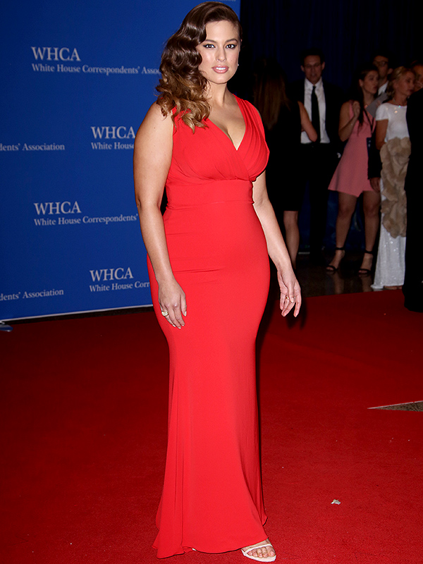 Ashley Graham at White House Correspondents' Dinner
