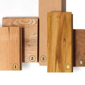 varieties of certified hardwood floors