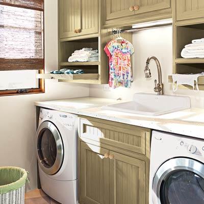 high efficiency laundry room