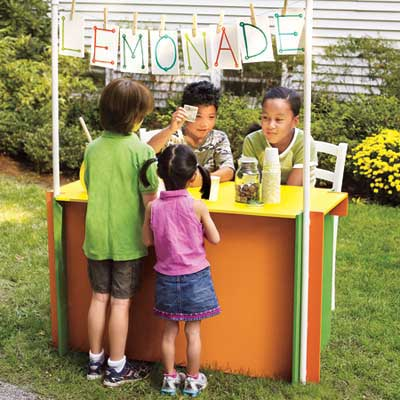 build a lemonade stand