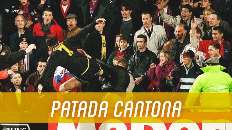 Kick', it is for the sheer exuberant beauty of his play that eric cantona is. Eric Cantona Kung Fu Kick Tokyvideo