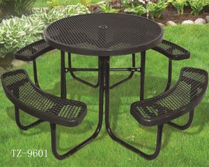 garden table and chair dipping plastic