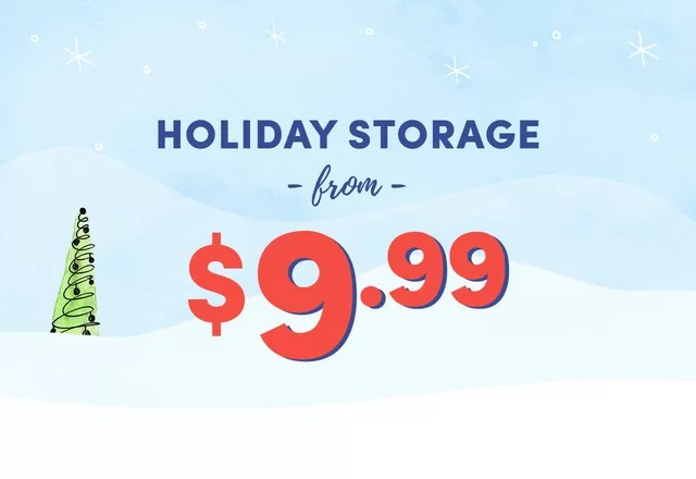 Holiday Storage Clearance