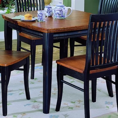 Designs 764 Series Dining Table Solid Wood Bistro