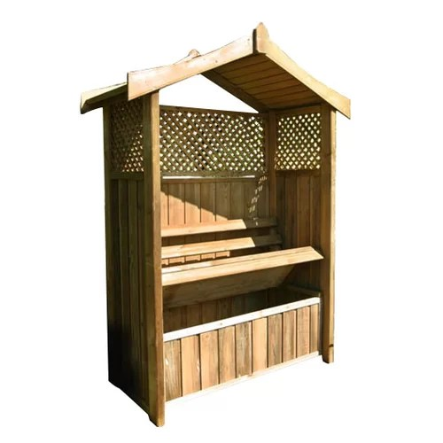 Zest 4 Leisure Dorset Arbour Storage Box