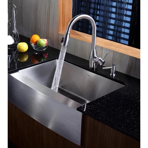 Kraus Farmhouse Kitchen Sink