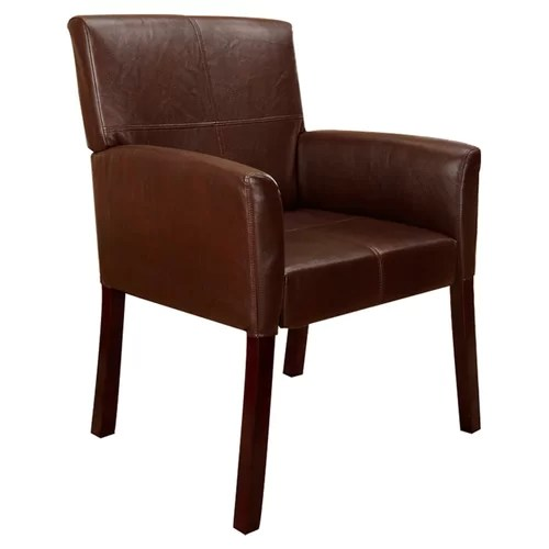 Small Leather Chairs Arms