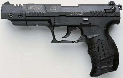 P22 Pistol Target 5 Walther