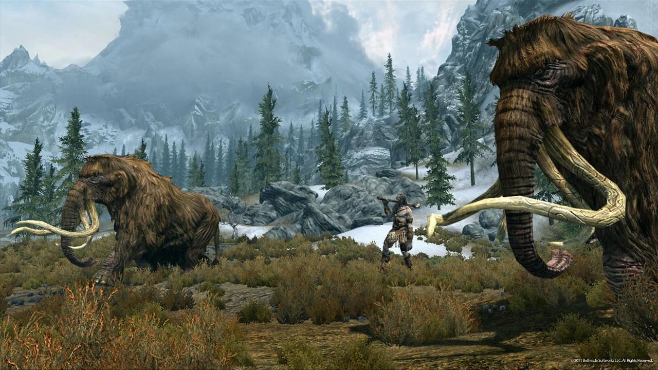 Elder Online Skyrim Characters Scrolls