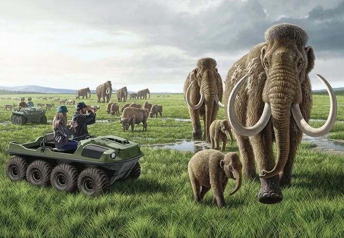 Resultado de imagem para pleistocene park