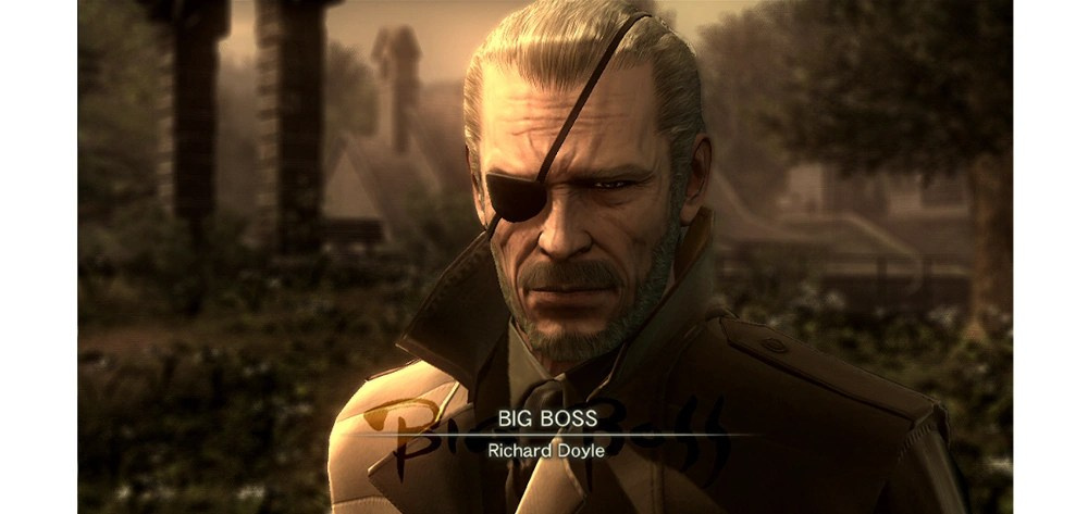 Image result for metal gear 1 big boss