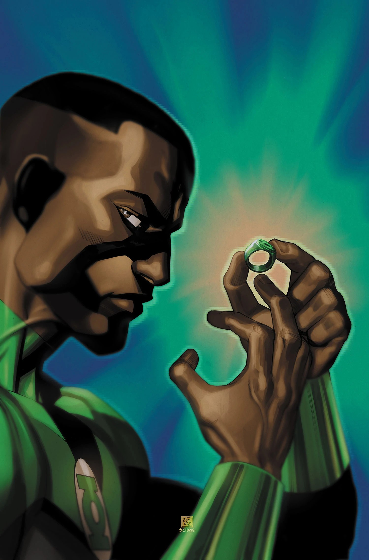 It's time John Stewart solidified his place in the Green Lantern Universe. I think being Corps Leader, either literally or figuratively, would be a great evolution for his character.