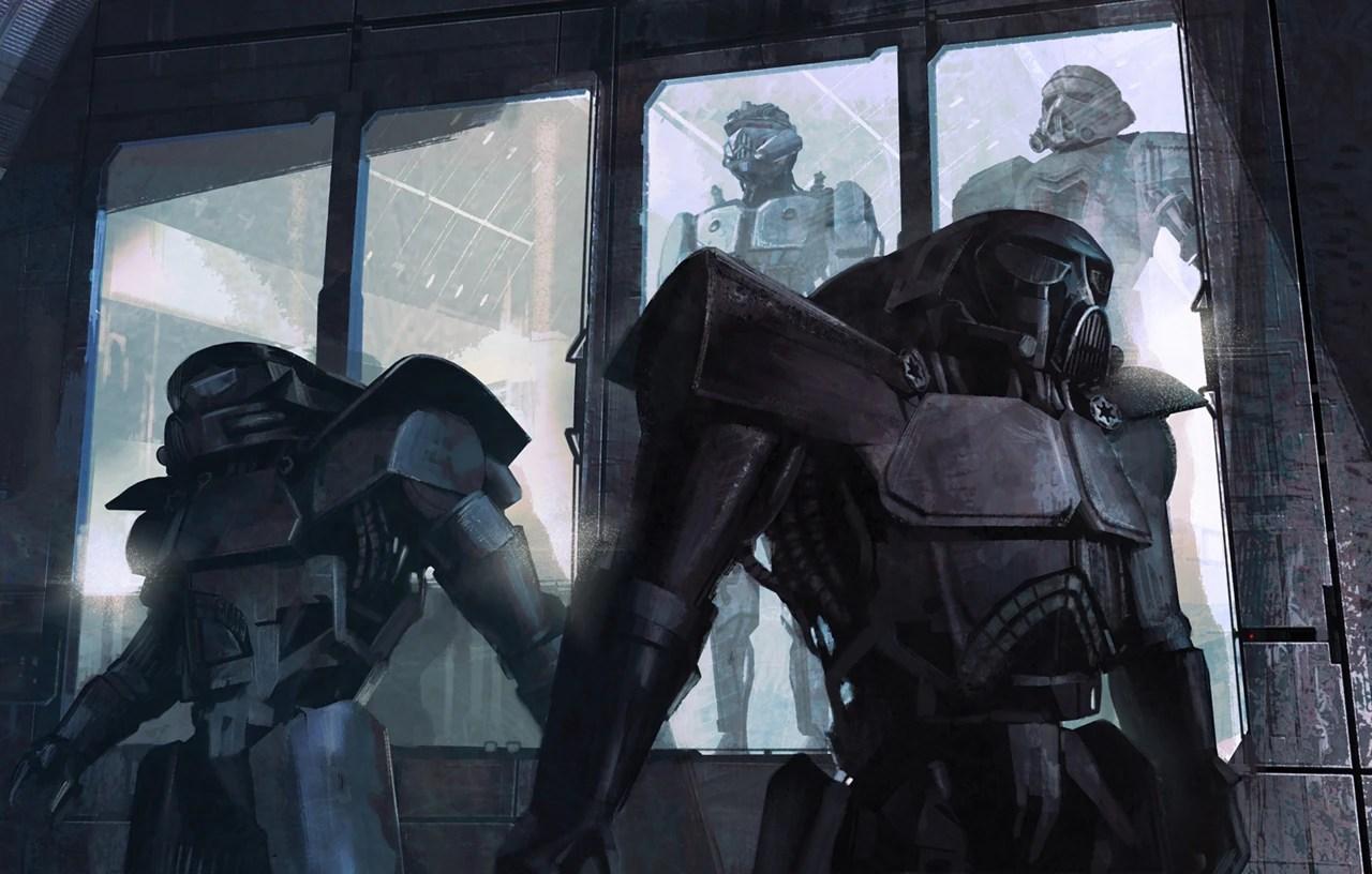 Dark Trooper Project Wookieepedia The Star Wars Wiki