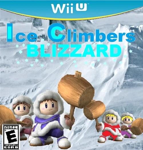 Ice Climbers Blizzard Fantendo Nintendo Fanon Wiki Wikia